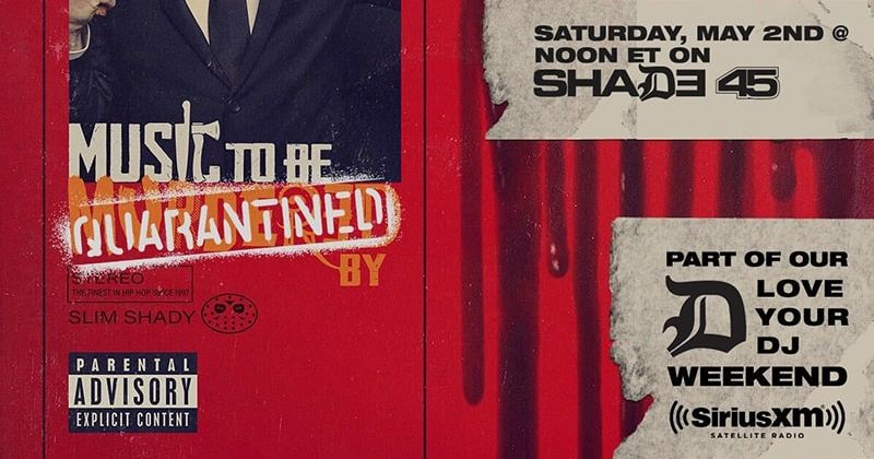 U201cmusic To Be Quarantined By U201d Playlist To Air On Shade 45